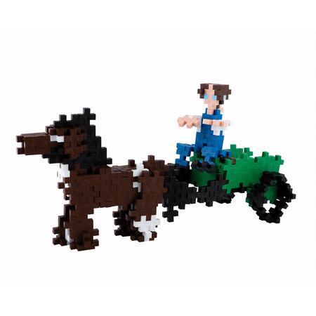 Plus-Plus Basic 360 ks Povoz s koňmi - 4