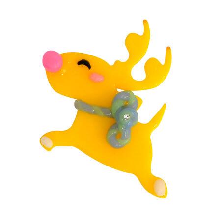 Think Doh - měnící barvu oranž/žlutá - 4