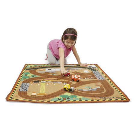 Hrací koberec - Stavba - 4