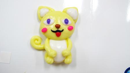 Think Doh - silikonová modelína žlutá - 4