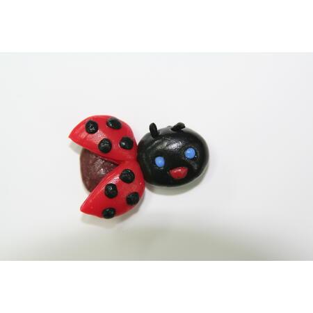 Think Doh - silikonová modelína červená - 4