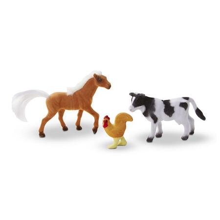 Sběratelská zvířata z farmy /10 figurek/ - 4