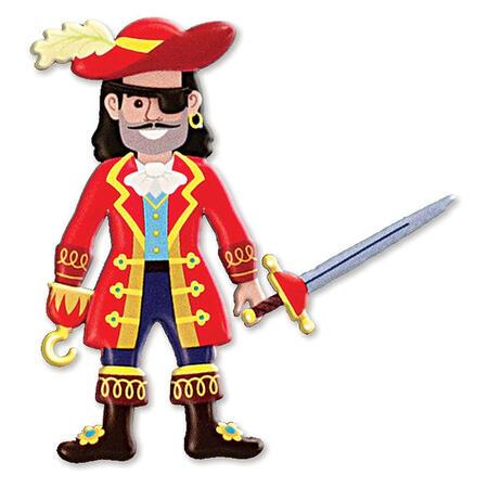 Adhezní sešit se samolepkami- Piráti - 4