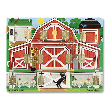 Dřevěné puzzle s dvířky - 4