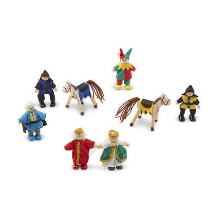 Dřevěné ohebné figurky Knížecí rodina - 4