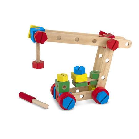 Dřevěná konstrukční stavebnice /48 ks/ - 5
