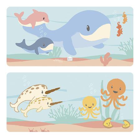 Mořský svět pěnová knížka - 5