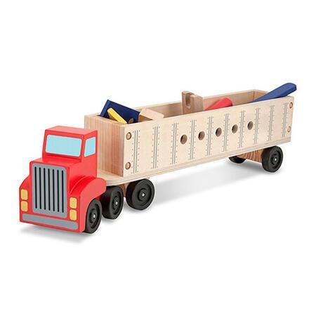 Dřevěná konstrukční stavebnice - auto - 5