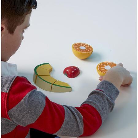 Kuchyňský set ze dřeva - Krájení ovoce - 5