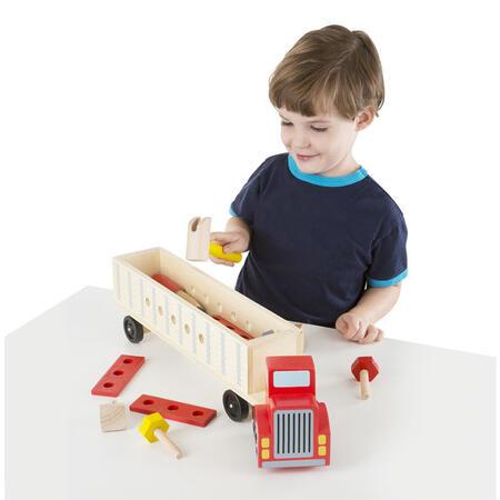 Dřevěná konstrukční stavebnice - auto - 6