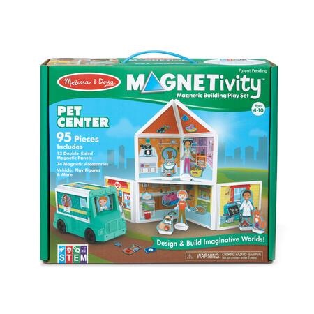 Melissa & Doug - MAGNETIVITY - Centrum pro mazlíčky - 7