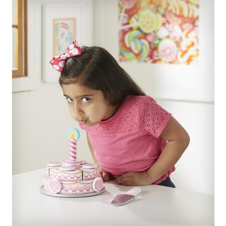 Dřevěný třípatrový narozeninový dort - 7
